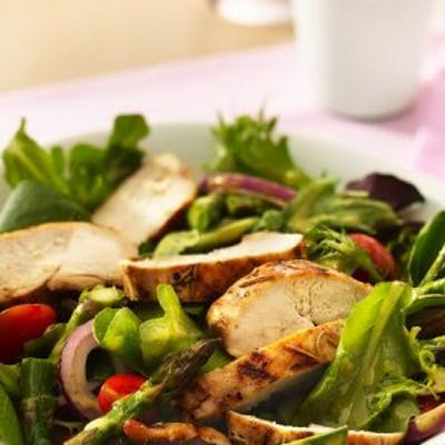 Salad with Grilled Protein