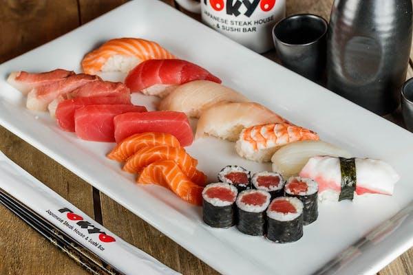 Combo H (Sushi & Sashimi)
