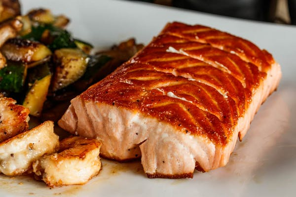 Hibachi Salmon