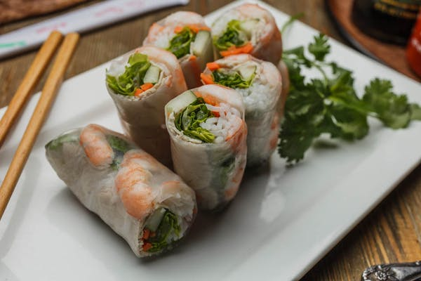 11.01 Shrimp & Pork Spring Roll