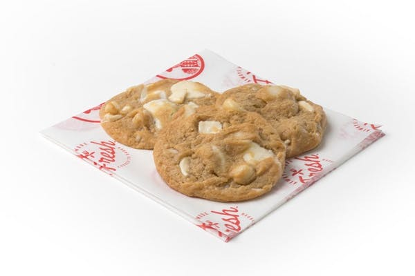 3 White Chocolate Macadamia Nut Cookies