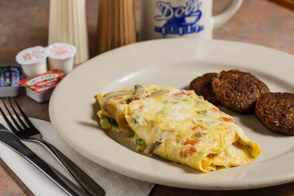 Veggie Lover's Omelet