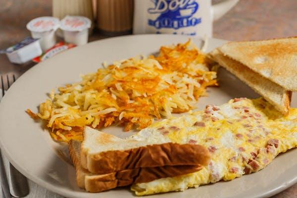 B5. Ham & Cheese Omelet