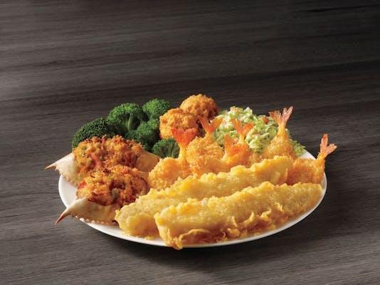 Deluxe Seafood Platter