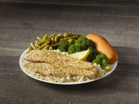Lemon Pepper White Fish Meal