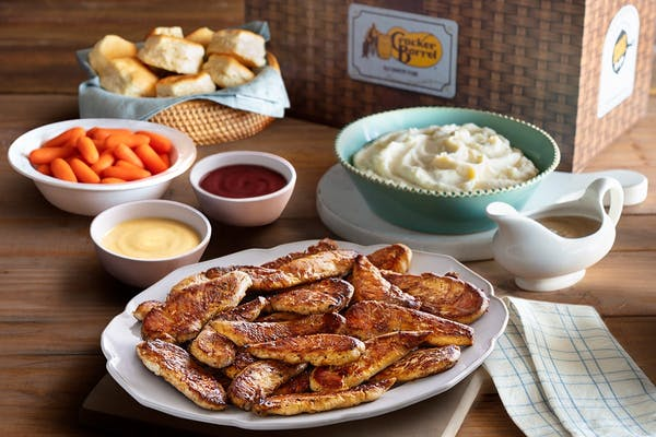 Grilled Chicken Tenders Family Meal Basket