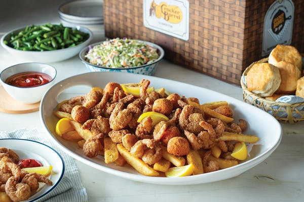 Country Fried Shrimp Family Meal Basket