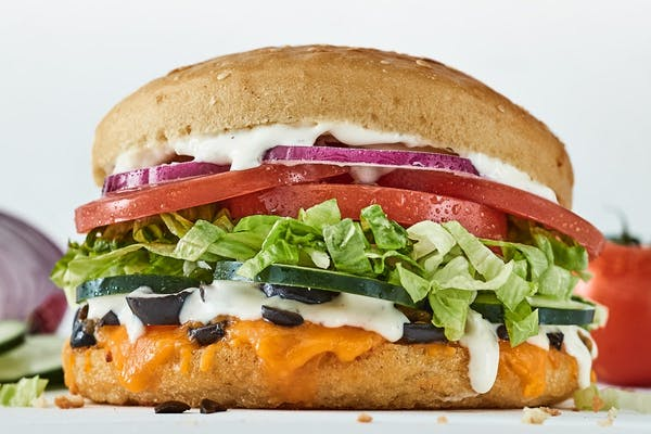 Fresh Veggie Sandwich