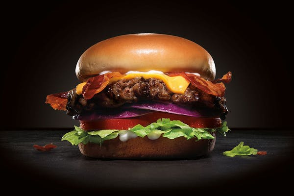 Bacon Cheese Thickburger
