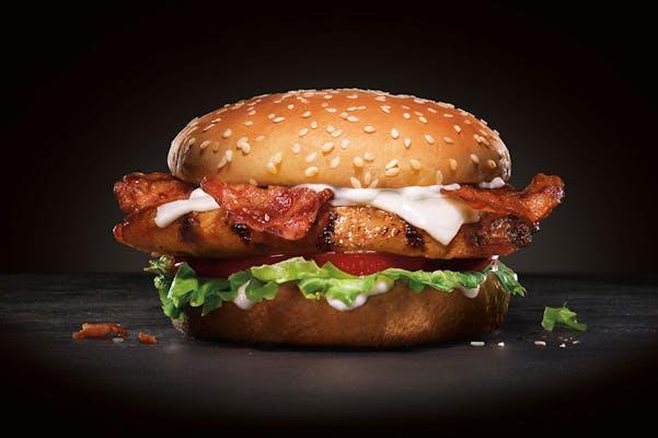 Chicken Club Burger