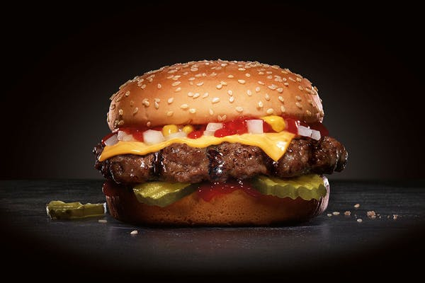 (¼ lb.) Little Cheese Thickburger