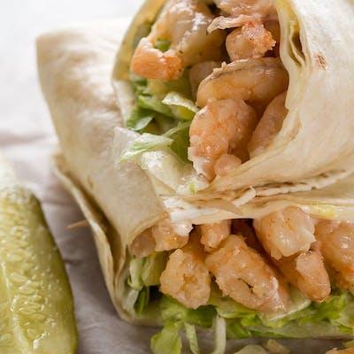 Shrimp & Cheese Wrap