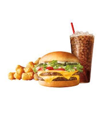 SuperSONIC® Double Cheeseburger Combo