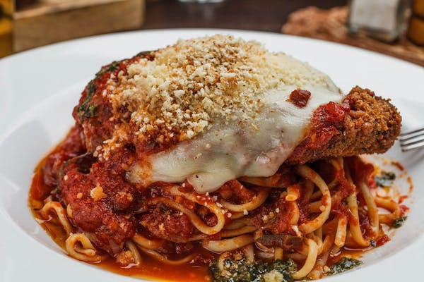 Grilled or Fried Chicken Parmesan