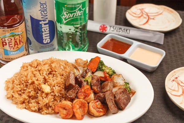 Lunch Hibachi Coca-Cola Combo