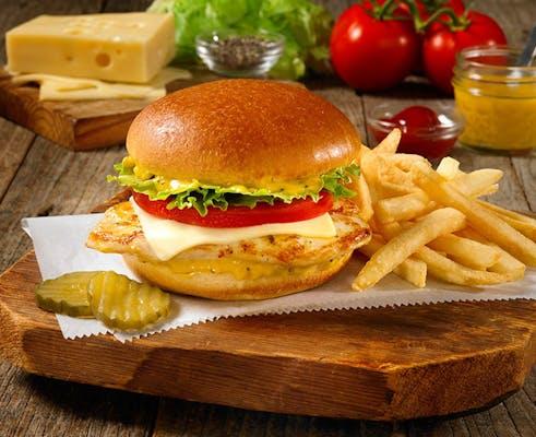 Zesty Grilled or Crispy Chicken Sandwich