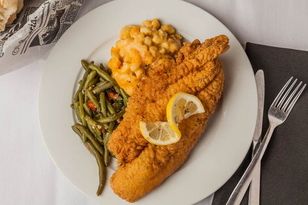 Fried Catfish Plate