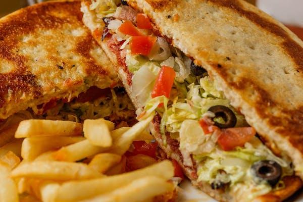 Mona Lisa Sandwich