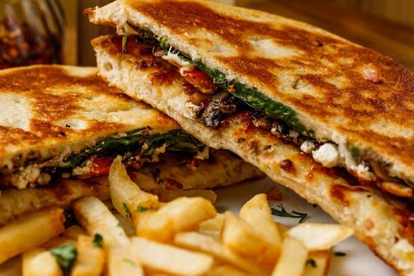 Spinach & Feta Sandwich