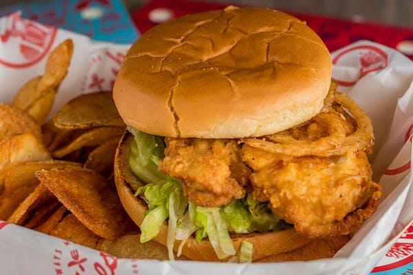 Cayenne Ranch Chicken Sandwich, 1 Side