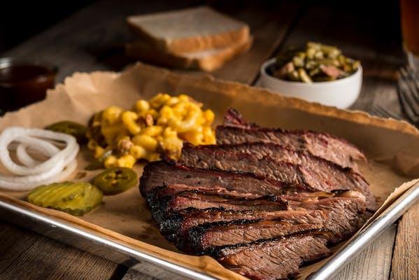 Brisket Barbecue Plate