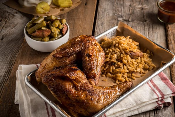 Chicken Barbecue Plate