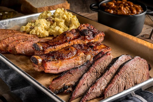 Outlaw's Special Barbecue Plate