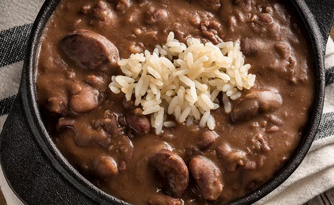 Monday's Red Beans & Rice Daily Special