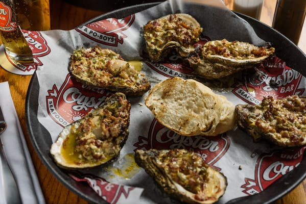 Firecracker Charbroiled Oysters