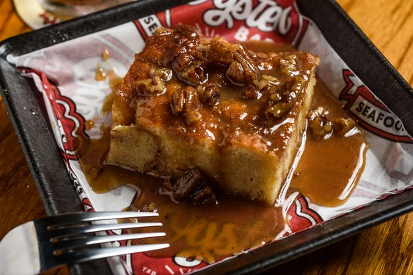 House-made Donut Bread Pudding
