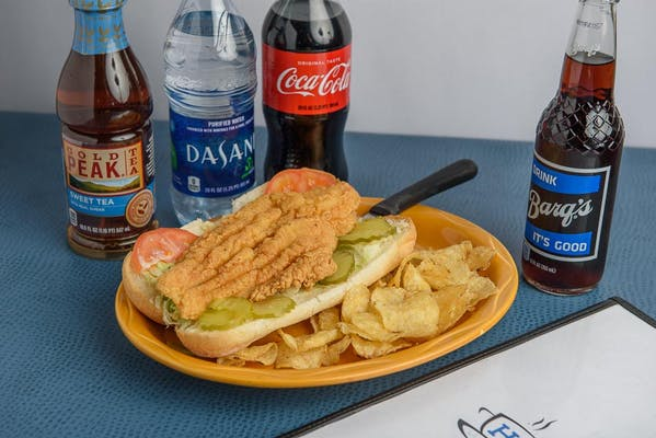 Catfish Po-Boy Coca-Cola Combo