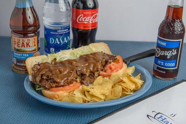 Roast Beef Poboy Coca-Cola Combo