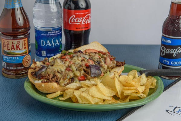 Gulfport Cheesesteak Coca-Cola Combo