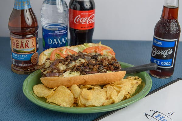 Long Beach Cheesesteak Coca-Cola Combo