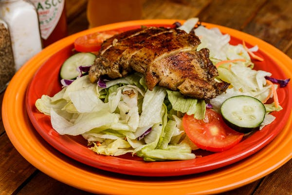 Marinated Grilled Chicken Salad