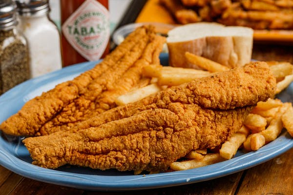 Fried, Grilled, or Blackened Catfish Platter