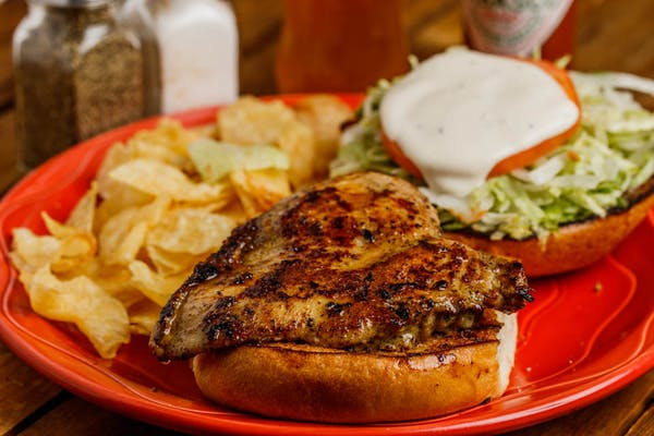 Marinated Grilled Chicken Sandwich