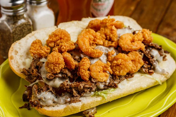 Surf & Turf Po-Boy