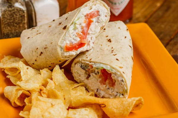 Gourmet Chicken Salad Wrap