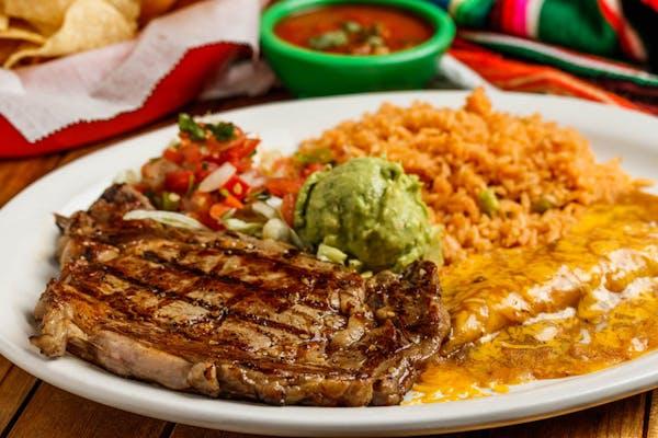 Ribeye & Enchiladas