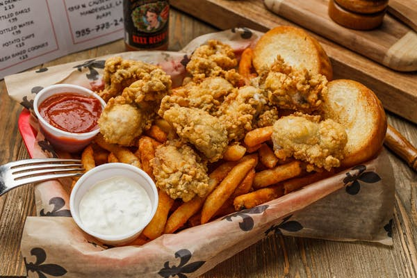 Fried Oysters Plate