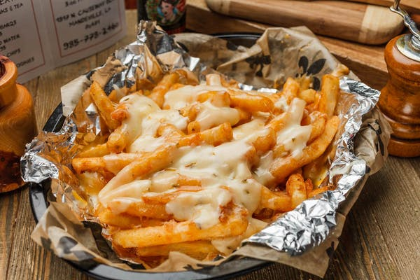 Spicy Cheese Fries