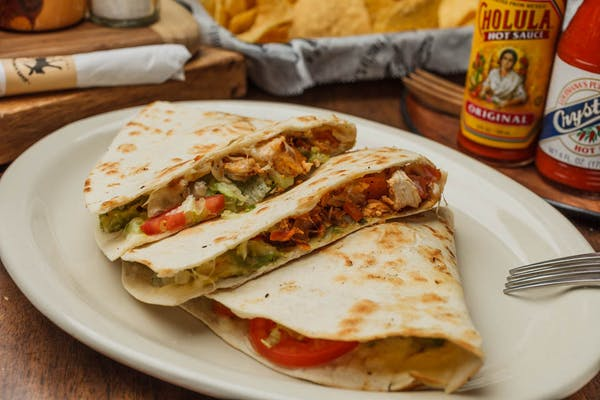 House Special Chicken Quesadilla