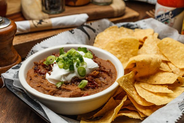 Badass Bacon Bean Dip