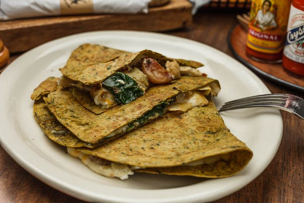 Green Goat Quesadilla