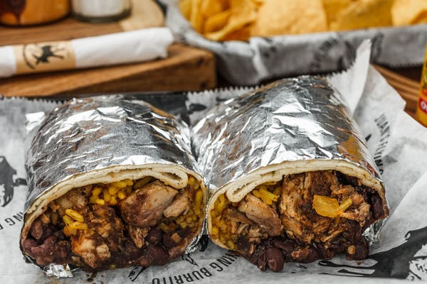 Jerk Chicken Burrito