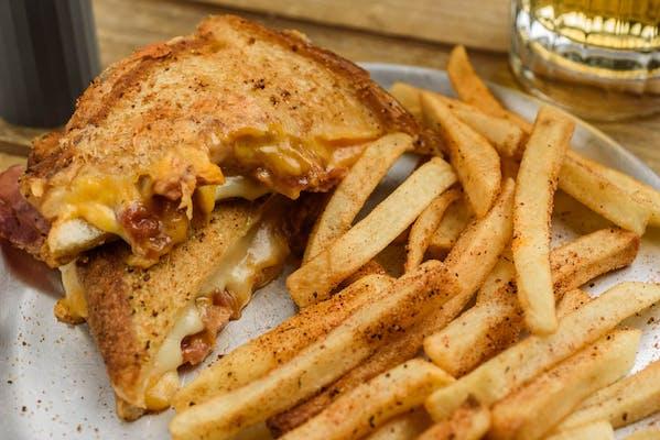 Drunk Grilled Cheese Sandwich