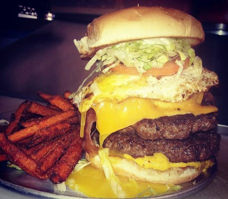 The Bad Brad Burger