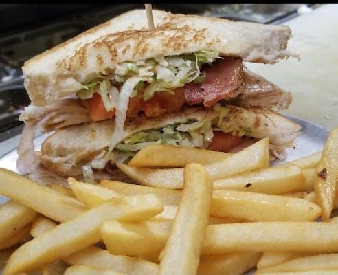 Hickory-Smoked Turkey Sandwich