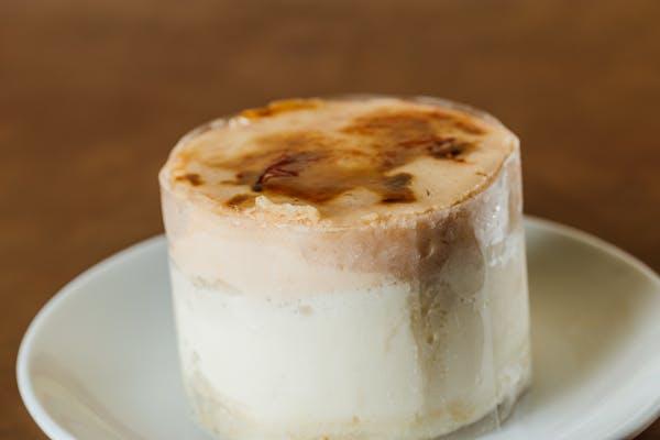 Coconut Caramel Mousse Cake